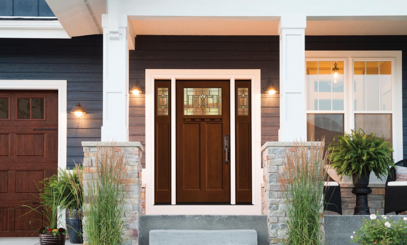 Prehung Exterior Double Doors How To Hang Exterior Door Home Entrance Door