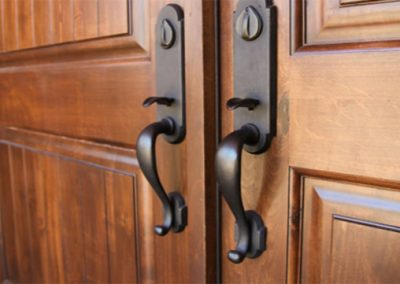 traditional doorware