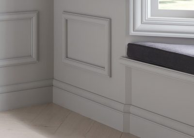 transitional baseboards