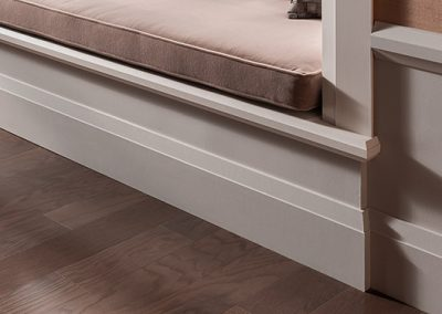 contemporary baseboards